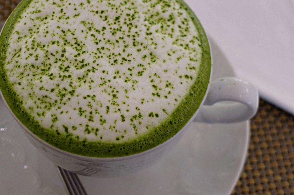 Blast From the Past: Matcha latte