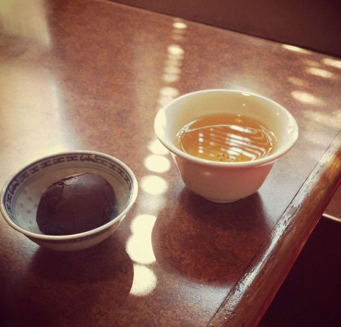 My first Chinese teahouse