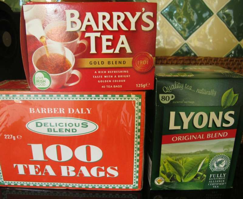 Tea in Ireland was a corker