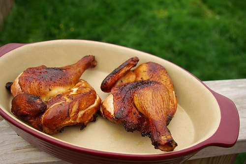 ... chinese new year easy tea smoked chicken tea smoked chicken in a wok