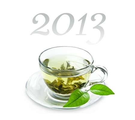 January is green tea month