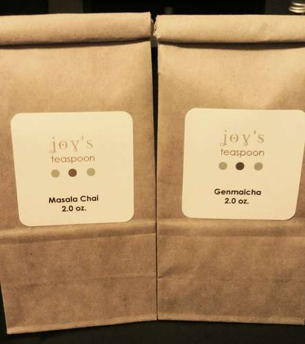 A different kind of tea bag