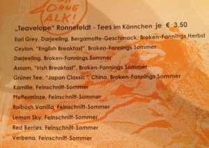 98 - Heidelberg - Dinner Tea Selection