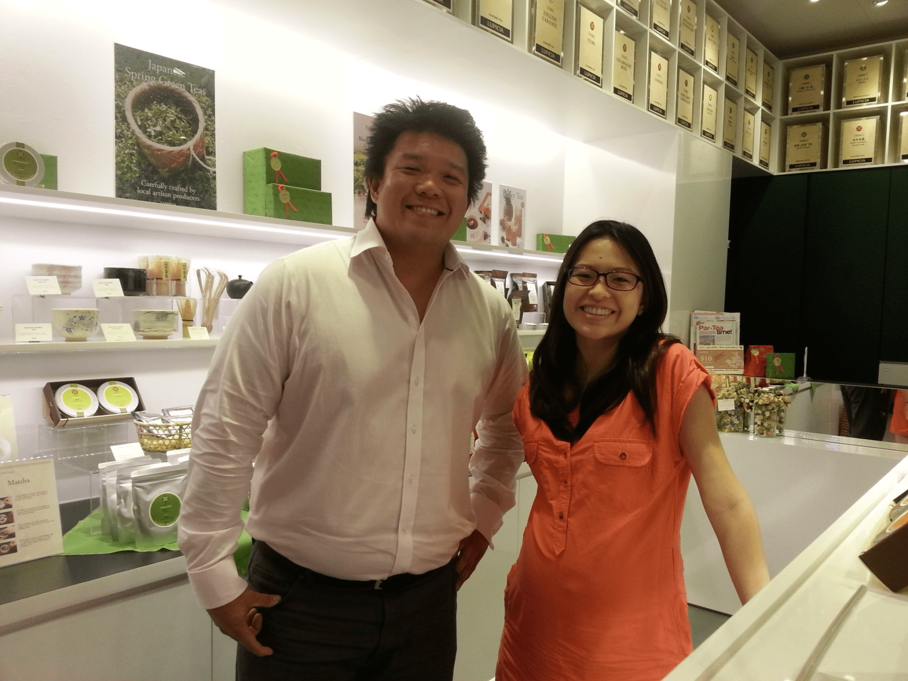 Setting up a LUPICIA store in Singapore