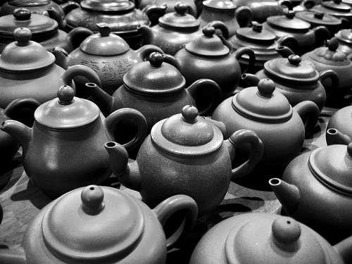 Modern Taiwanese teaware