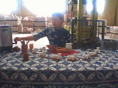 Chinese tea ceremony for non-tea drinkers