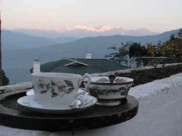 Tea at sunrise