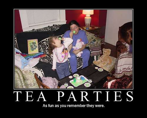 Kids and tea? You bet!