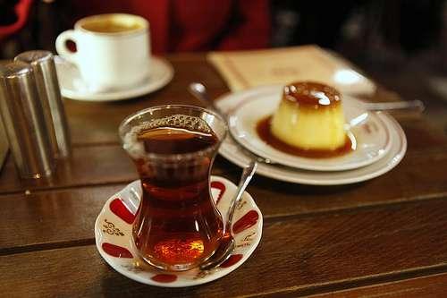 Tea.  Custard.  Simplicity.
