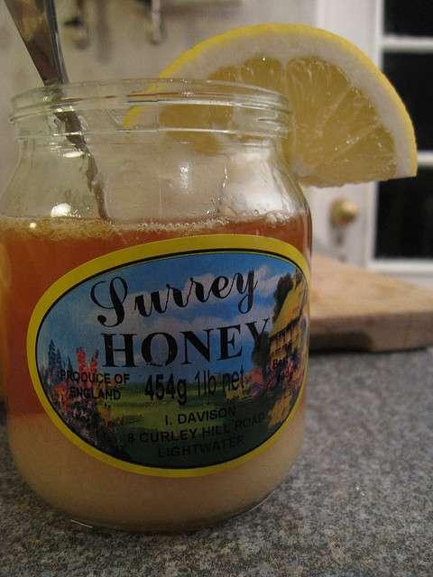 Tea and . . . honey?