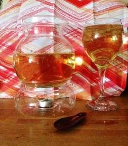 Dharlene tea and goblet