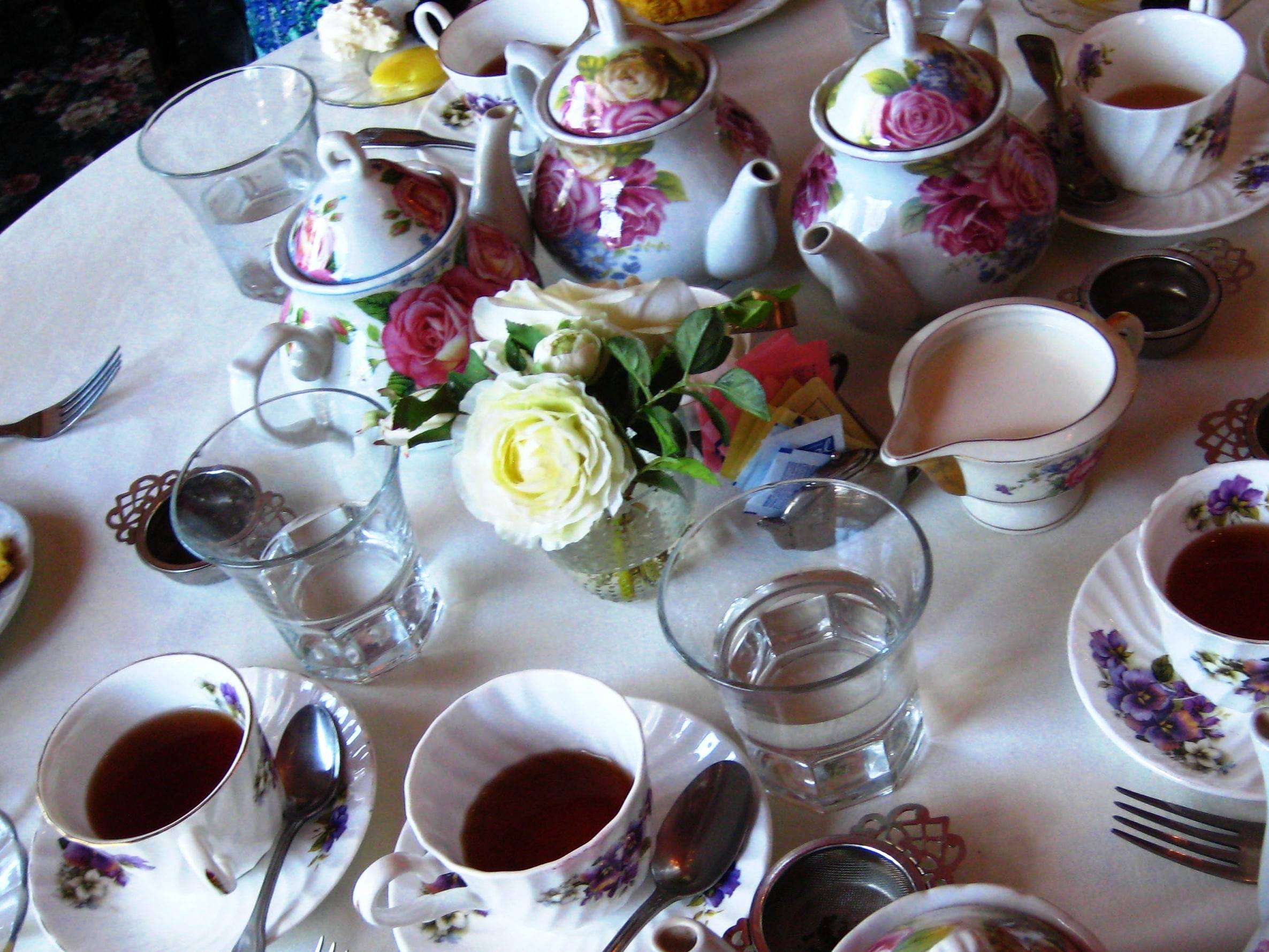 Tea Holidays Throughout the Year and Throughout the World