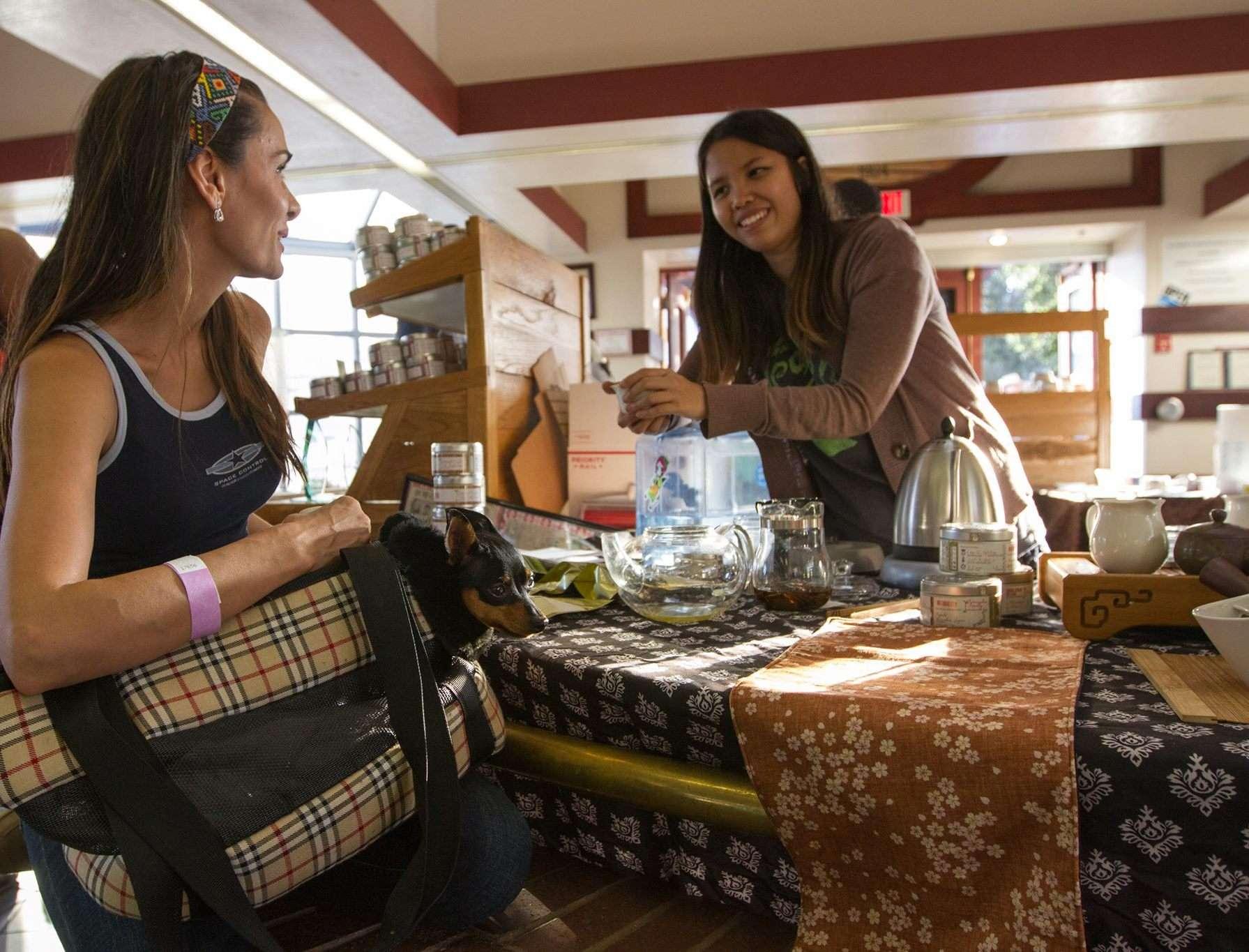 Organizing a Tea Festival
