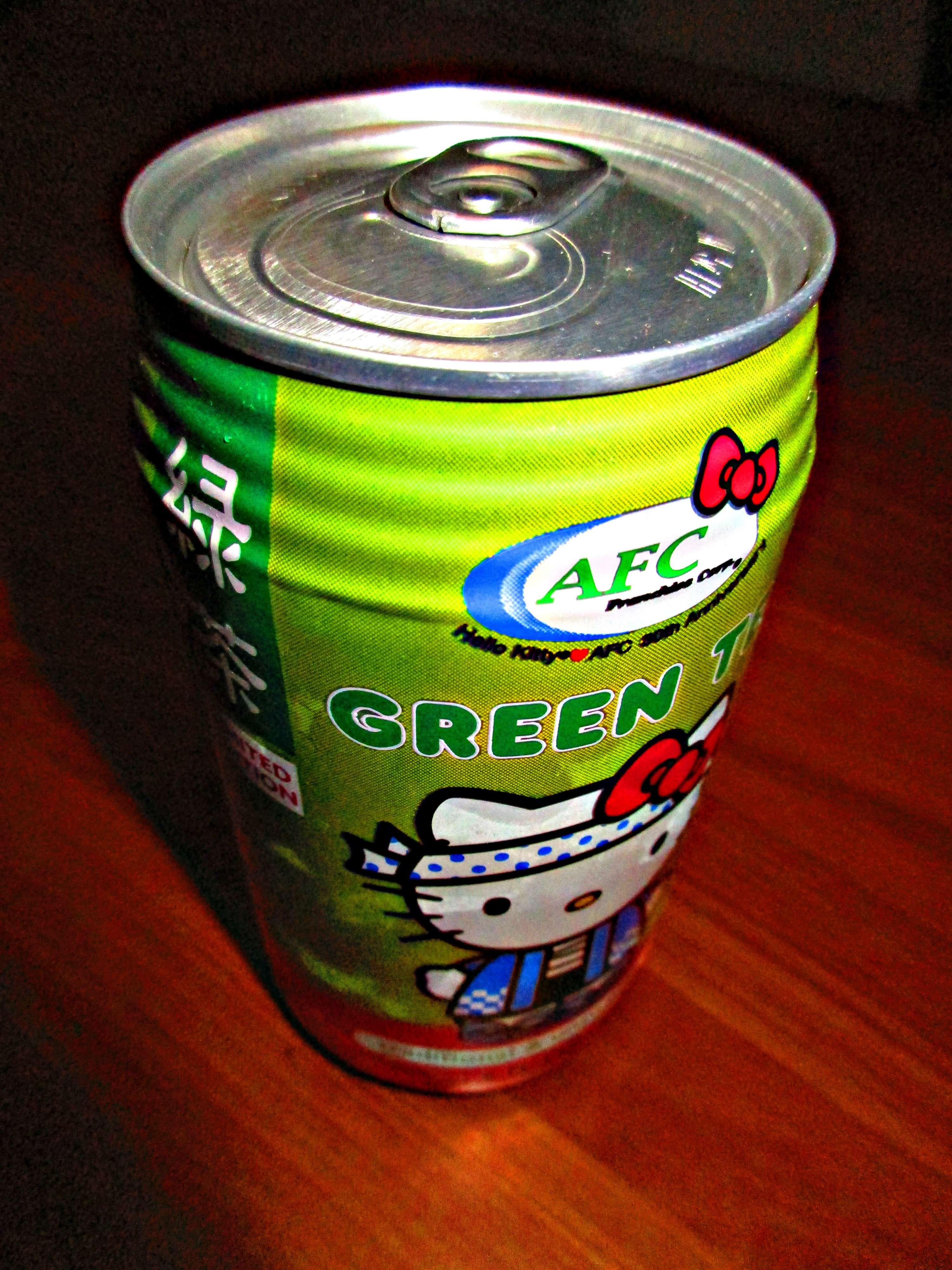 Canned Green Tea