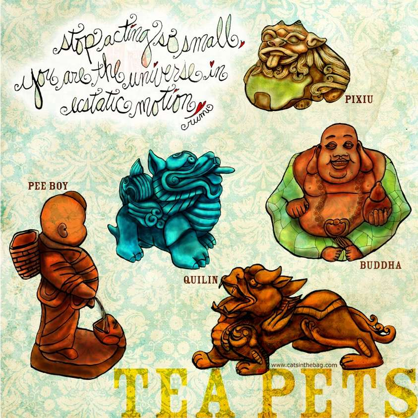 Illustrated History: Tea Pets