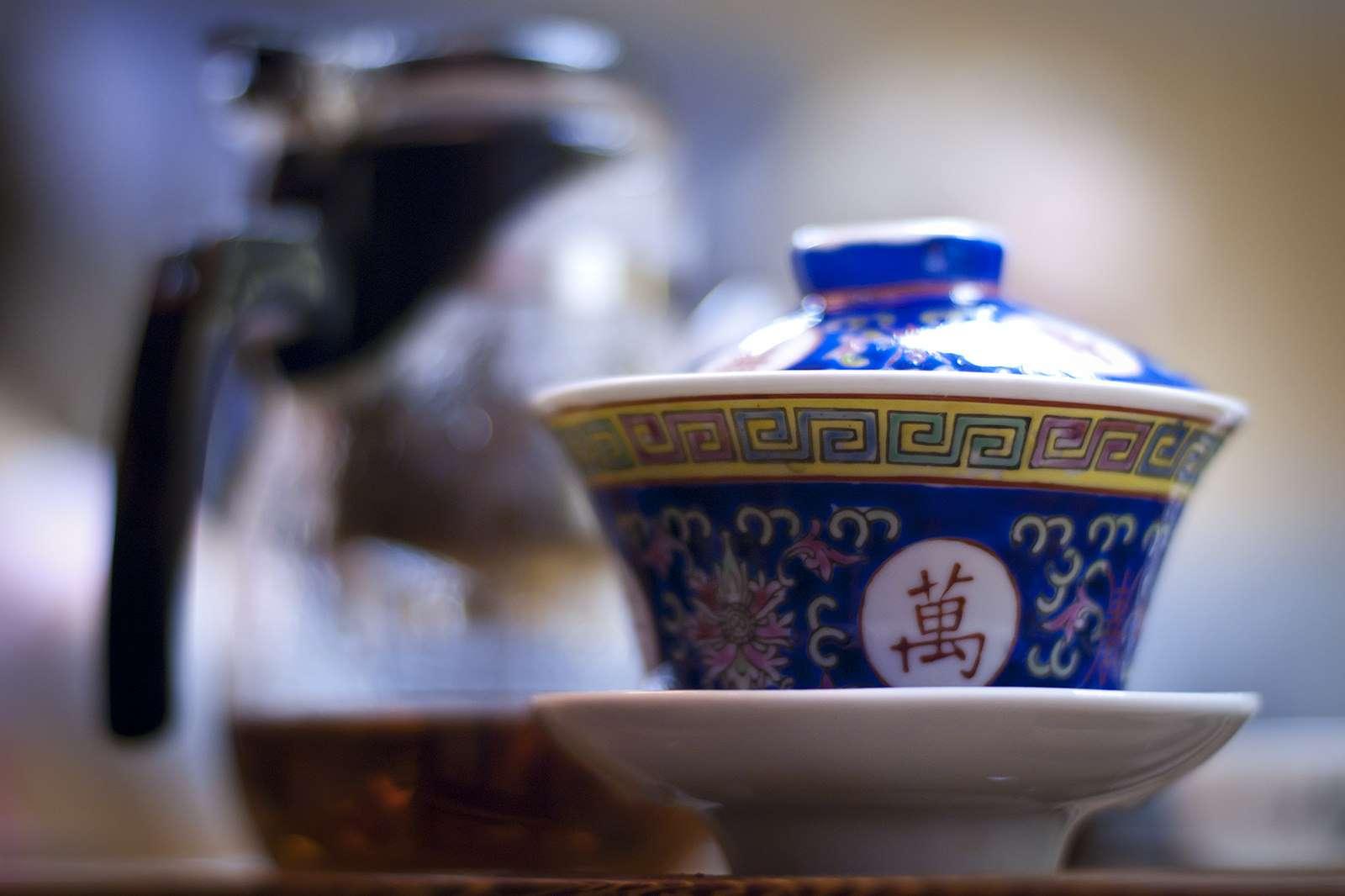 A Tea Mystery at Work