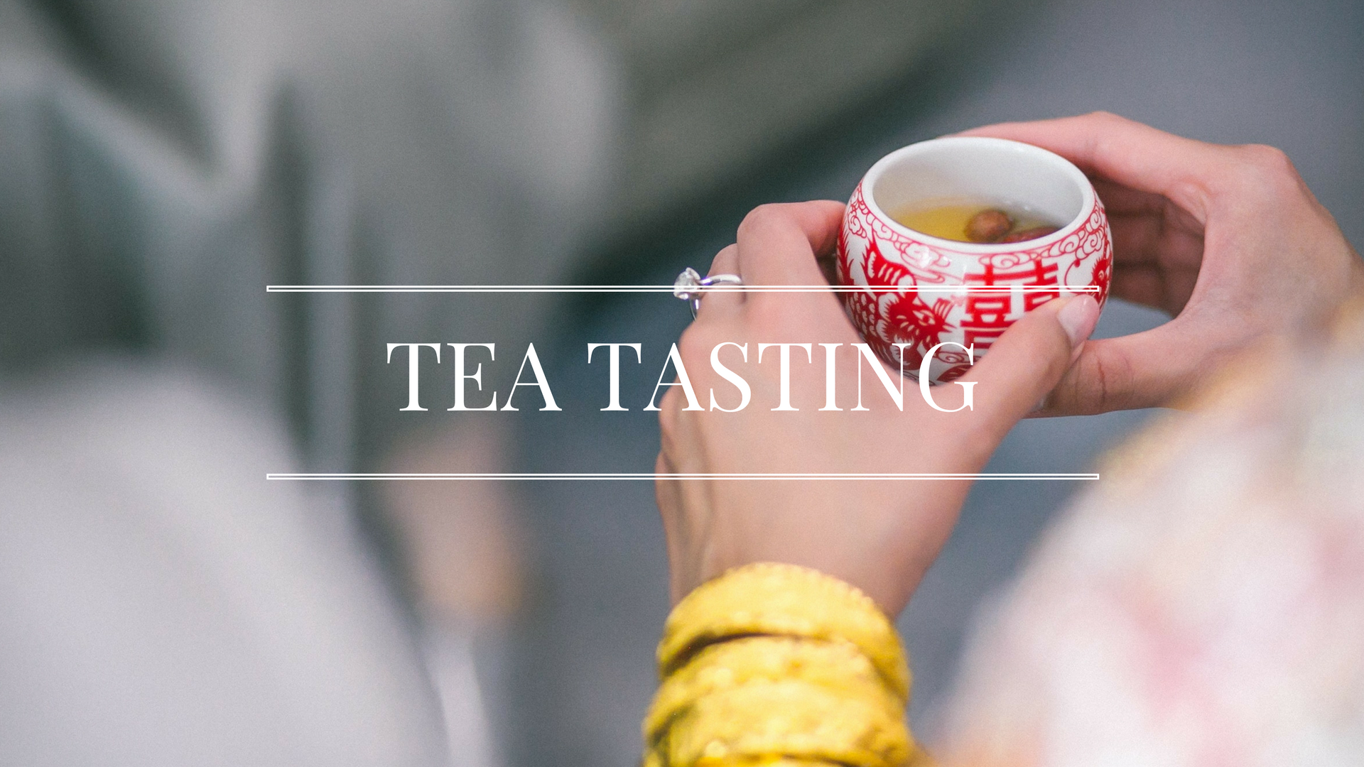 How to host a perfect tea tasting party