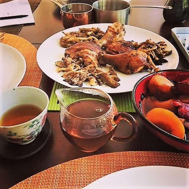 Cooking and baking with puerh