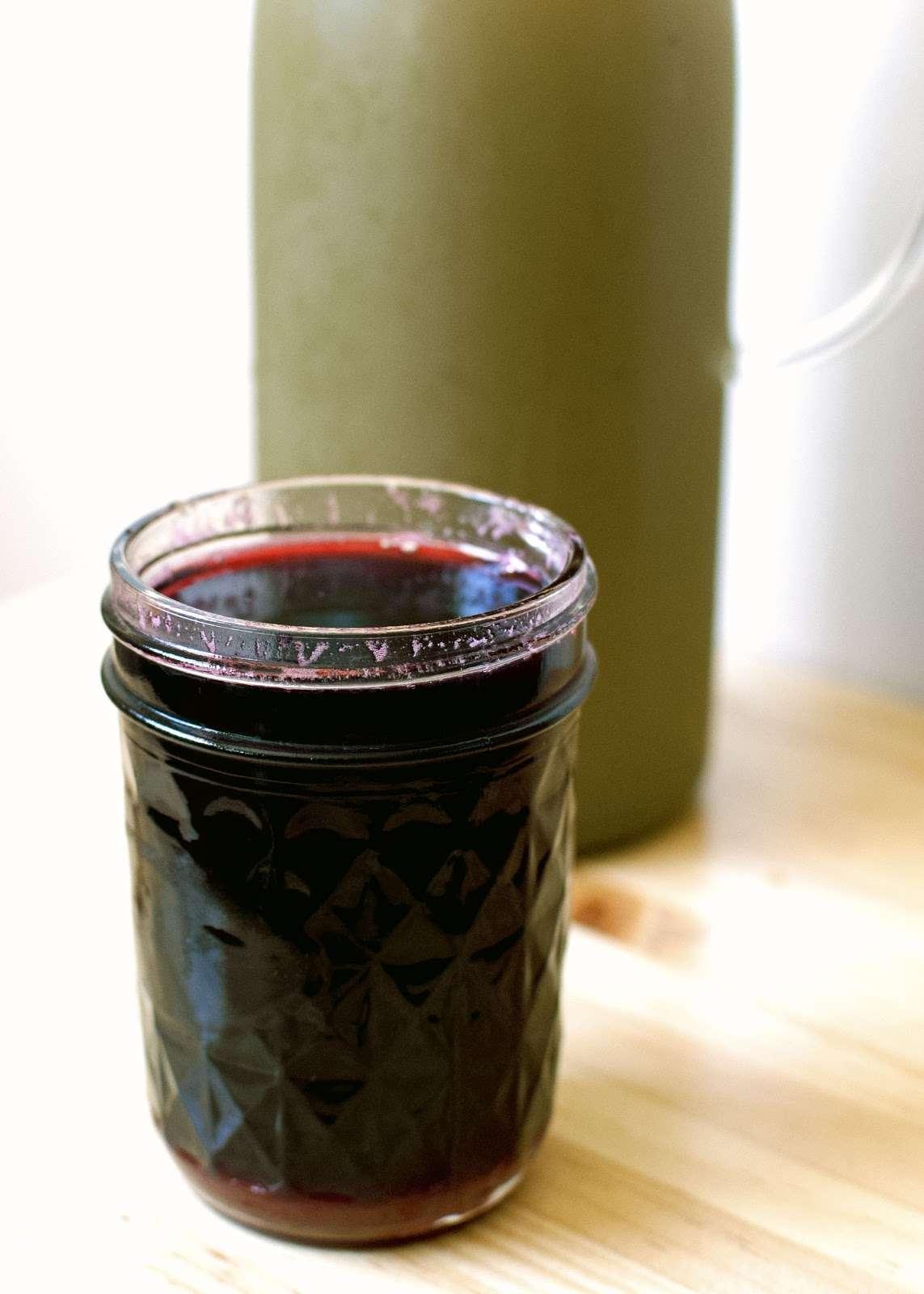 Green Tea & Rose Lemonade With Honey Hibiscus Syrup