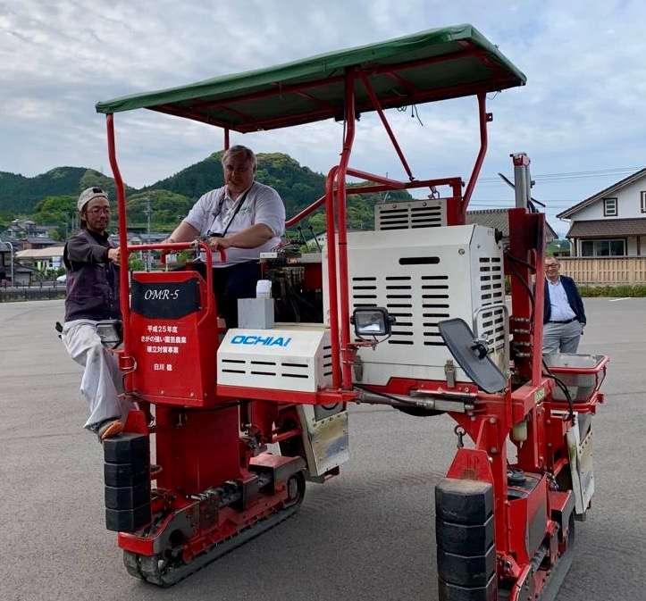 Modern Mechanical Tea Harvest