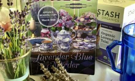 Lavender Tea Party; Local + Virtual Tea Party