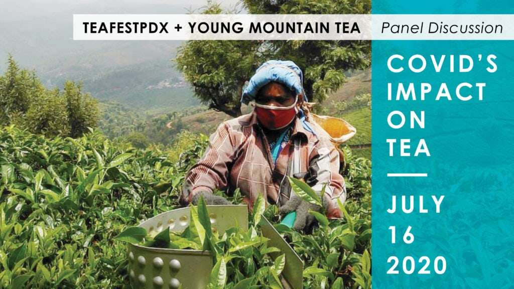 Promotional image from the COVID's Impact on Tea presentation