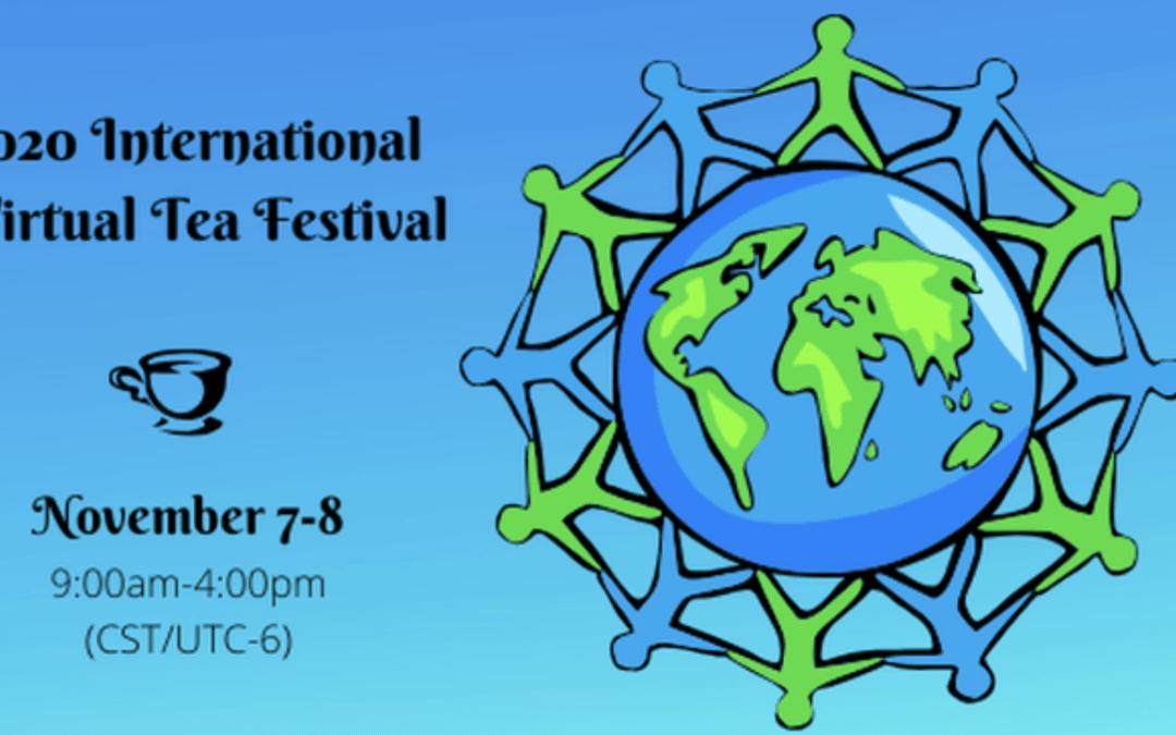 How can a tea festival be virtual?