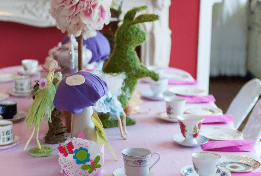 Five Tips for Sharing Tea with Kids