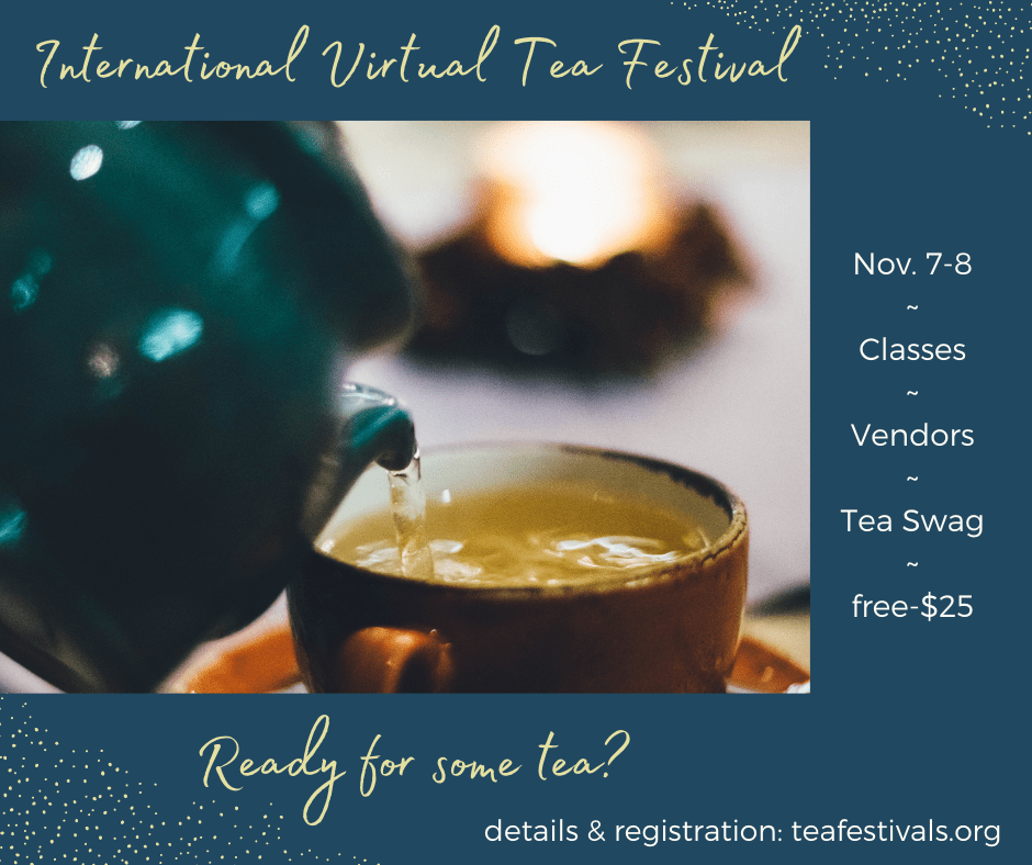 Ad for the 2020 International Virtual Tea Festival