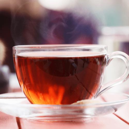 Cup of black tea -