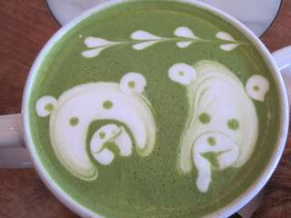 Tea in latte form