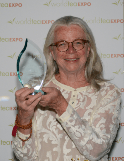 "Babette Donaldson wins World Tea Expo award for ""Best Campaign"" for Sip for Peace"